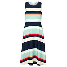 Buy Sugarhill Boutique Summer Stripe A-Line Midi Dress, Multi Online at johnlewis.com