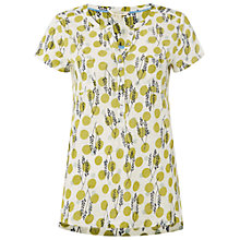 Buy White Stuff Holiday Sun Linen Shirt, Nectar Yellow Online at johnlewis.com