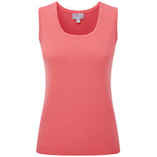 Buy Pure Collection Jada Cashmere Tank Top, Tigerlilly Online at johnlewis.com