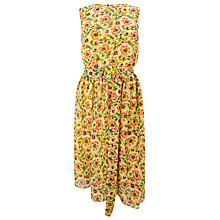 Buy Finery Springdale Acid Flower Drop Waist Dress, Multi Online at johnlewis.com