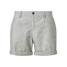 Buy Jigsaw Stripe Chino Shorts, Navy Online at johnlewis.com