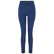 Buy Miss Selfridge Steffi Super High Waist Skinny Jeans Online at johnlewis.com