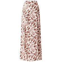Buy White Stuff Printed Split Maxi Skirt, Multi Online at johnlewis.com