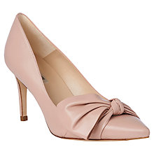 Buy L.K. Bennett Caitlyn Bow Stiletto Heeled Court Shoes Online at johnlewis.com