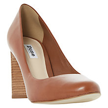 Buy Dune Alaska Block Heeled Court Shoes Online at johnlewis.com