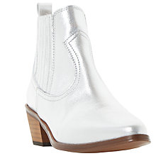 Buy Dune Quin Cowboy Ankle Boots Online at johnlewis.com