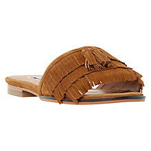 Buy Dune Lasso Fringed Slip On Sandals Online at johnlewis.com