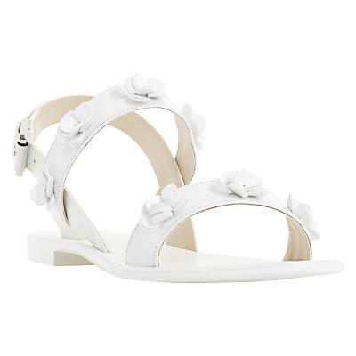 Dune Lavende Double Strap Sandals