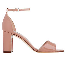 Buy L.K. Bennett Helena Block Heeled Sandals, Fawn Online at johnlewis.com