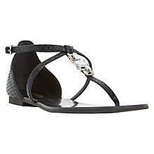 Buy Dune Nayla Toe Post Jewel Sandals Online at johnlewis.com