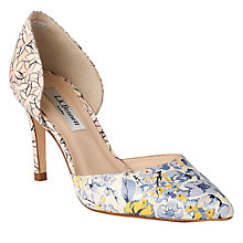 Buy L.K. Bennett Flossie D'Orsay Court Shoes, Multi Online at johnlewis.com