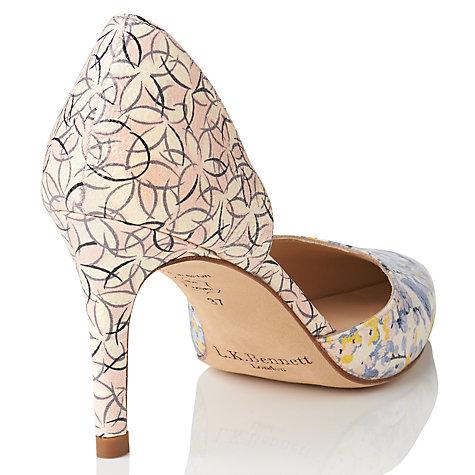 Bennett flossie d orsay court shoes multi online at johnlewis com