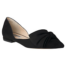 Buy L.K. Bennett Clio Pointed Toe Pumps, Black Online at johnlewis.com