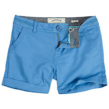Buy Fat Face Girls' Alice Chino Shorts, Marina Blue Online at johnlewis.com