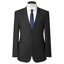 Buy Calvin Klein Tate Pindot Tailored Suit Jacket, Perfect Black Online at johnlewis.com
