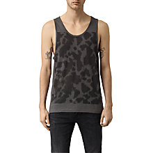 Buy AllSaints Cadfer Vest, Grey/Black Online at johnlewis.com