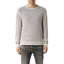 Buy AllSaints Stein Crew Neck Jumper Online at johnlewis.com