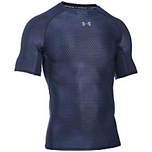 Buy Under Armour HeatGear Armour Printed Compression T-Shirt Online at johnlewis.com