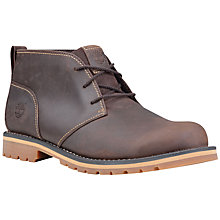 Buy Timberland Grantly Chukka Boot, Dark Brown Online at johnlewis.com