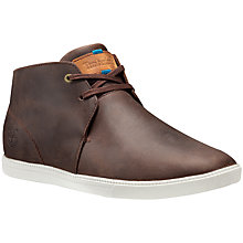 Buy Timberland Fulk Mid Profile Mid Boots, Brown Online at johnlewis.com