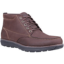 Buy Timberland Barrett Park Chukka Boot, Dark Brown Online at johnlewis.com