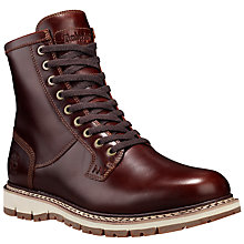 Buy Timberland Britton Hill Mock Toe Waterproof Leather Boot, Wheat Online at johnlewis.com