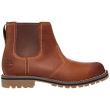 Buy Timberland Larchmont Leather Chelsea Boot, Medium Brown Online at johnlewis.com