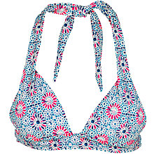 Buy Fat Face Geo Star Cody Bikini Top, Multi Online at johnlewis.com