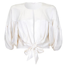 Buy Ghost Faye Shrug, Ivory Online at johnlewis.com