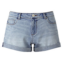 Buy Miss Selfridge Roll Hem Shorts Online at johnlewis.com