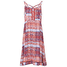 Buy Fat Face Arundel Sand Dunes Dress, Coral Online at johnlewis.com