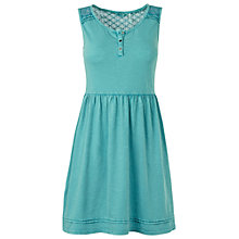 Buy Fat Face Millie Dress, Eucalyptus Online at johnlewis.com