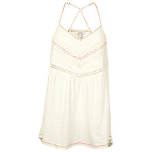 Buy Fat Face Pendeen Cami, Ivory Online at johnlewis.com