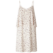 Buy Miss Selfridge Double Layer Sprig Dress, Multi Online at johnlewis.com