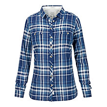 Buy Fat Face Classic Fit Slub Check Shirt, Navy Online at johnlewis.com
