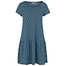 Buy Fat Face Mabel Trailing Ditsy Dress, Navy Online at johnlewis.com