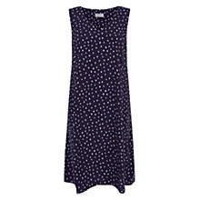 Buy Hobbs Suzie Spot Swing Dress, Navy Multi Online at johnlewis.com