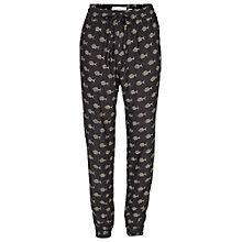 Buy Fat Face Fish Print Trousers, Phantom Online at johnlewis.com