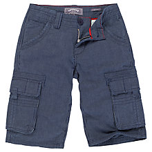 Buy Fat Face Ticking Stripe Shorts, Blue Online at johnlewis.com