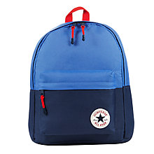 Buy Converse Children's Chuck Taylor All Star Backpack, Blue Online at johnlewis.com