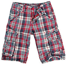 Buy Fat Face Boys' Sandbanks Shorts, Red Online at johnlewis.com