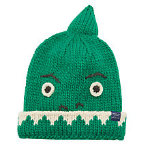 Buy Little Joule Children's Dinosaur Hat, Green Online at johnlewis.com