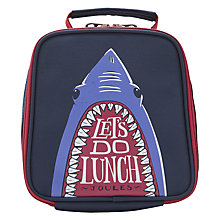 Buy Little Joule Junior Munch Shark Lunch Bag Online at johnlewis.com