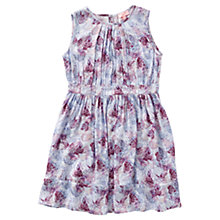 Buy Jigsaw Girls' Overlapping Butterfly Print Dress, Purple Online at johnlewis.com