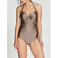 Buy Beach by Mint Velvet Halterneck Swimsuit Online at johnlewis.com