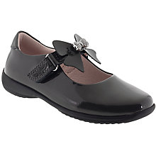 Buy Lelli Kelly Children's Charlotte School Shoes, Grey Patent Online at johnlewis.com