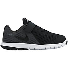Buy Nike Children's Flex Experience 5 PS Trainers, Black Online at johnlewis.com