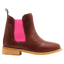 Buy Joules Children's Chelsea Boots, Tan Online at johnlewis.com