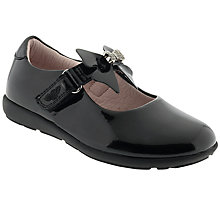 Buy Lelli Kelly Charlotte Leather School Shoes, Black Patent Online at johnlewis.com
