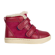 Buy UGG Children's Rennon Lonely Hearts Boots, Pink Online at johnlewis.com